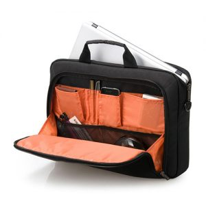 Everki Advance 14inch Topload Notebook Briefcase – Black & Orange