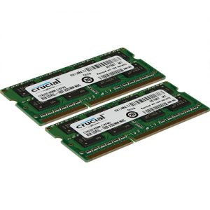 . 16GB (2x8GB) PC3-12800 1600MHz 204-Pin DDR3 CL11 SO-DIMM Laptop RAM Memory