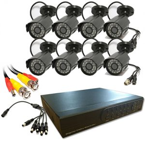 8 CHANNEL DVR KIT